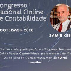 Palestra Incoterms® 2020 – Congresso Pensar Contabilidade – Julho 2020